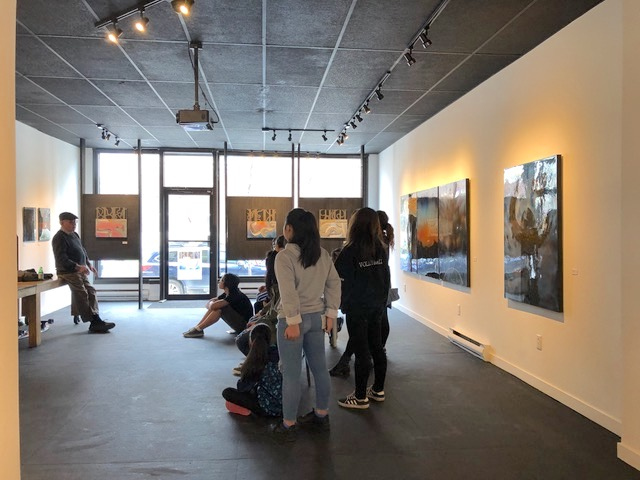 Artist's Talk to Hyun Jou Lee's class, May 18, 2019