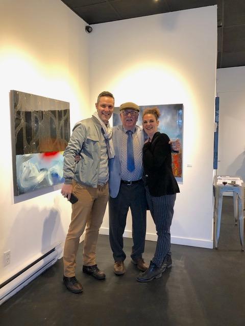Emmanuel Euvrarde, Artist, Elizabeth Barbosa, Vernissage, May 17, 2019
