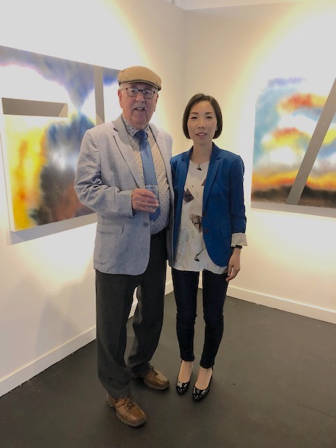 With JEA CHO, Vernissage Galerie VU, May 17, 2019